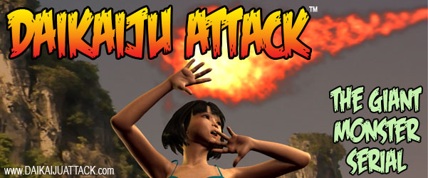 Help promote DAIKAIJU ATTACK! Run this banner on your site!